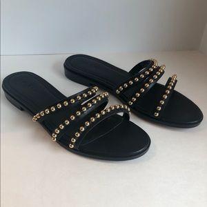 Black Coach sandals 👡